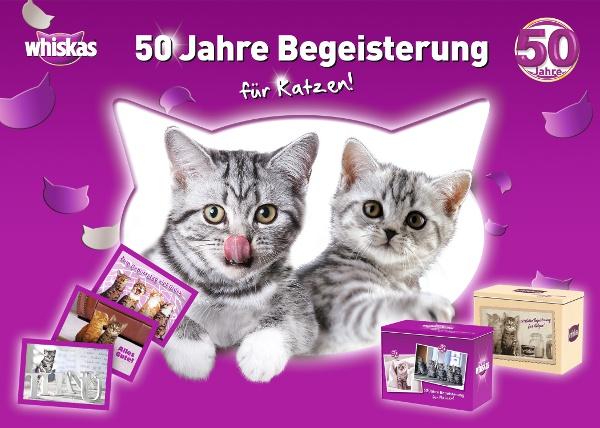 Whiskas Wird 50 Ein Grosses Fest Fur Katzenfreunde Katze Du