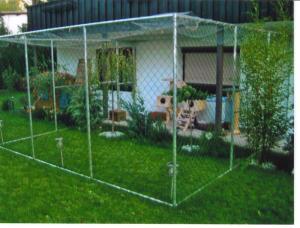 neues freigehege f r katzen zu verkaufen katze du. Black Bedroom Furniture Sets. Home Design Ideas