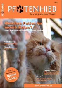 pfotenhieb ein neues katzenmagazin auf dem markt katze du. Black Bedroom Furniture Sets. Home Design Ideas